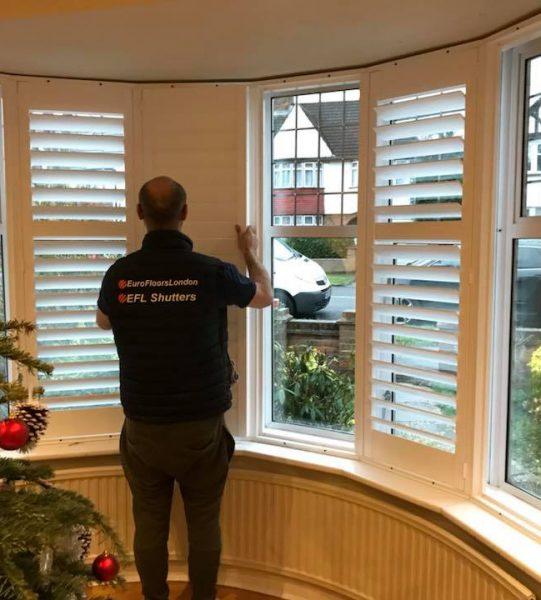 shutters installation 1